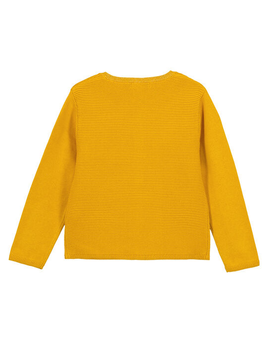 Yellow Cardigan GAJOCAR5 / 19W90143D3CB107