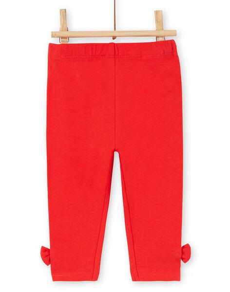 Girl's layette leggings LYIJOLEG2 / 21SI0941CALF505