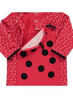 Baby girls' fleece sleepsuit CEFISURPYJ / 18SH1341SPY099