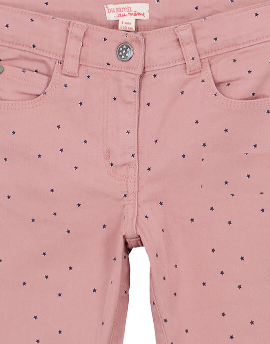 Old rose Pants GAJOPANT2 / 19W90141D2B303