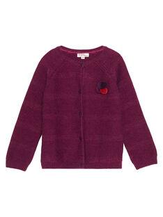 Purple Cardigan GABRUCAR3 / 19W901K3CAR718