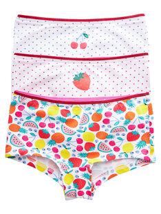 White Shorts JEFAHOTFRU / 20SH1132SHY000