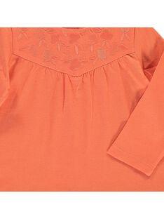 Baby girls' long-sleeved T-shirt CIJOTEE6B / 18SG09R7TML406