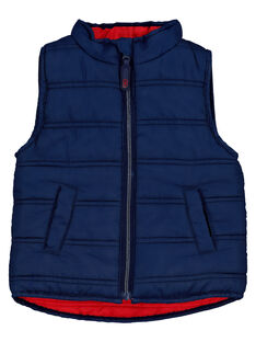 Baby boys' reversible padded jacket FUGRODOU1EX / 19SG10X2PARF505