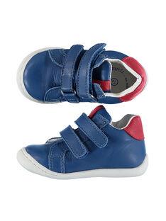 Baby boys' smart leather flex trainers FBGBASFLEX / 19SK3832D3FC218