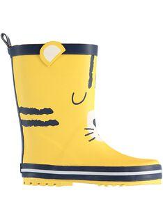 Yellow Rain boots JGBPTIGRE / 20SK36Y1D0C010