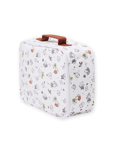 Fancy printed suitcase for mixed births MOU1VAL / 21WF4241VAL001
