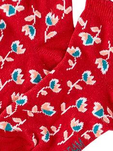 Red SOCKS JYACEACHO / 20SI01N1SOQF506