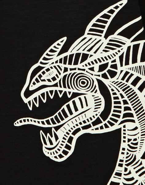 Black LONGSLEEVE T-SHIRT KOJOTEE13 / 20W90242D32090