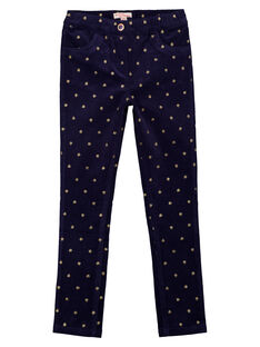 Navy pants GASANPANT / 19W901C1PAN070