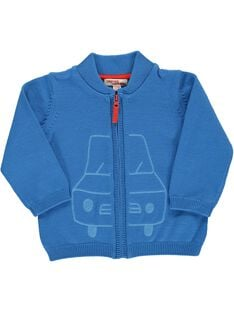 Baby boys' cotton cardigan CUJOGIL1 / 18SG10R1GIL201