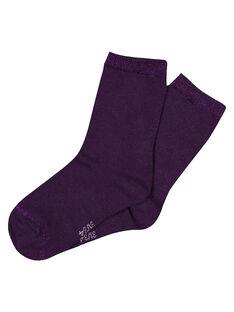 Purple Socks GYAJOCHO4 / 19WI01L1SOQ708