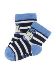 Baby boys' mid length socks CYUKLECHO / 18SI10D1SOQ099