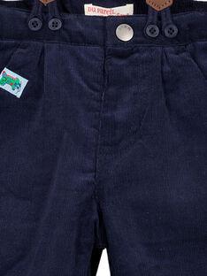 Navy pants GUNOPAN1 / 19WG10V2PAN705