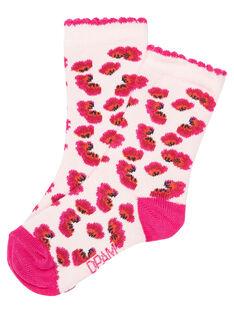 Pink Socks JYIVICHO / 20SI09D1SOQD327