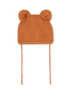 Baby boy bear knit cap MYUFUNBON / 21WI1066BONI820