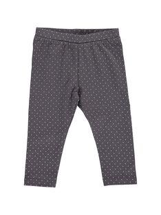 Baby girls' polka-dot leggings CYIBENLEG / 18SI09G1CAL099