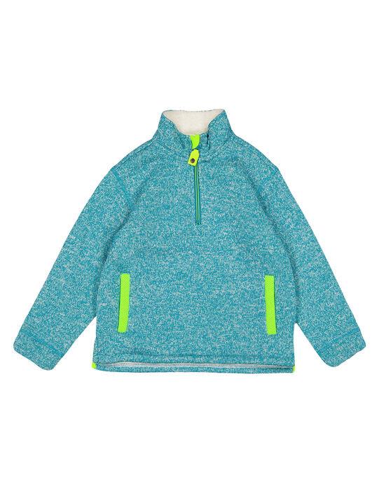 Dark Turquoise Pullover GOJOPULTEK2 / 19W902L1D2EC217