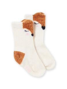 Baby girl owl socks MYISAUSOQ / 21WI09P1SOQA010