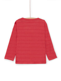 Red long-sleeved T-shirt - Child Boy LOROUTEE1 / 21S902K2TML330