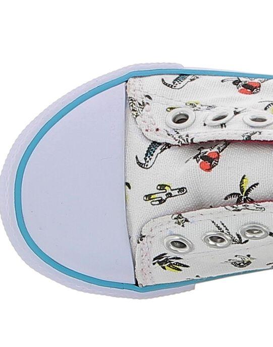 Baby boys' canvas trainers CBGTENSAVA / 18SK38O4D16000