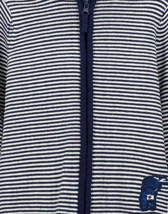 Boys' zipped hoodie FONEGIL / 19S902B1GIL070