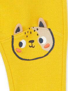 Baby boy yellow pants LUNOPAN1 / 21SG10L1PAN106