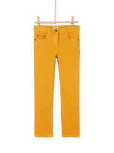 Yellow PANTS KAJOPANT1 / 20W90134D2B107