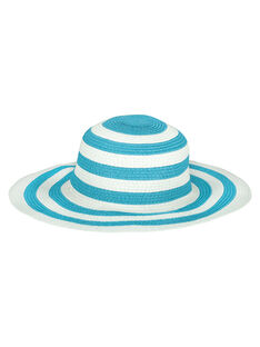 Girls' floppy hat FYABELCHAP2 / 19SI01R2CHA099
