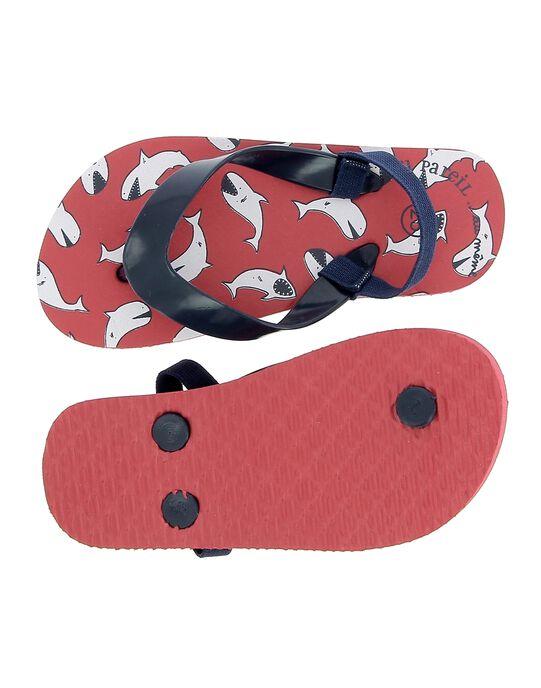 Red Beach flip flops CGTONGRED / 18SK36Z3D01050