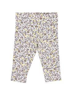 Baby girls' leggings CYICELEG / 18SI09M1CAL099
