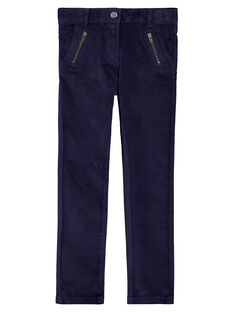 Navy pants GATRIPANT / 19W901J1PAN070