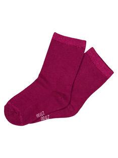 Purple Socks GYAJOCHO3 / 19WI01L2SOQ718