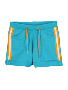 Baby boys' fleece shorts FUJOBER7 / 19SG10G2BER209