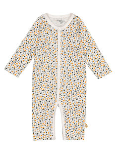 Unisex babies' long-sleeved bodysuit with long legs GOU1BOD8 / 19WF0514BOD001