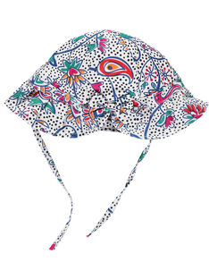 Baby girls' hat with ties FYITOCHA / 19SI09L1CHA099