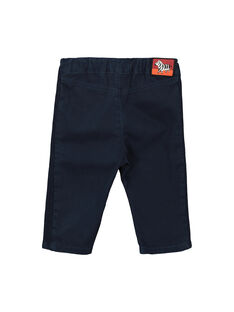 Baby boys' navy blue trousers FUBAPAN3 / 19SG1063PAN717