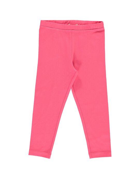Girls' plain leggings CYAJOLEG7 / 18SI01R7D26D312