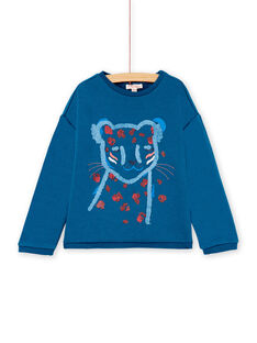 Blue SWEAT SHIRT KASASWEA / 20W901O1SWEC225