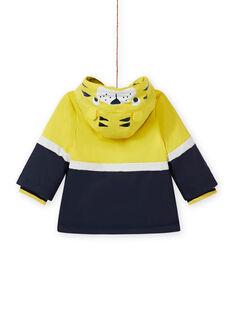 Sunny yellow RAIN COAT MUGROIMP / 21WG1051IMP102