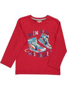 Boys' long-sleeved T-shirt CODETEE1 / 18S902F1TML050