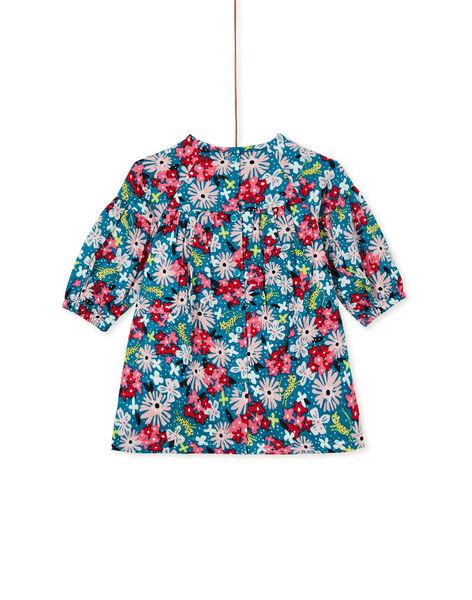 Dark Turquoise DRESS KIBRIROB1 / 20WG09F2ROBC217