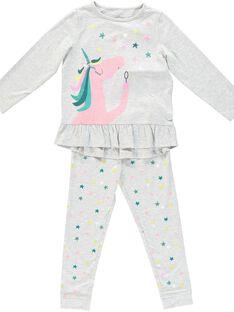 Heather grey Pajamas JEFAPYJLIC / 20SH11C2PYJ943