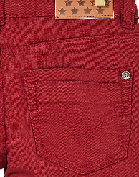 Red PANTS KOJOPATWI5 / 20W90237D2B506