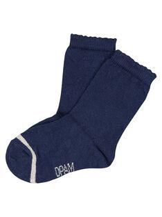 Navy Socks GYIESCHO2 / 19WI09U2SOQ070