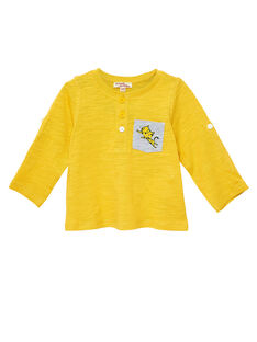 Yellow T-shirt JUJOTUN5 / 20SG1042TMLB114