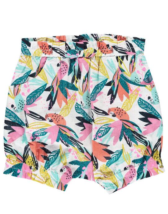 White Shorts FICUSHO1 / 19SG09N2SHO000