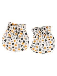 Unisex babies' newborn mittens GOU1GAN / 19WF4211MFN001