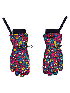 Navy Gloves GYASKIGANT / 19WI01W1GAN070