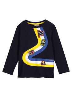 Boys' fancy T-shirt FOCOTEE2 / 19S90282TML705